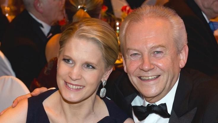 Cornelia Poletto mit ihrem zweiten Ehemann Rüdiger Grube. (Foto)