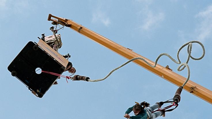 Gefährliches Hobby: Bungee Jumping. (Foto)