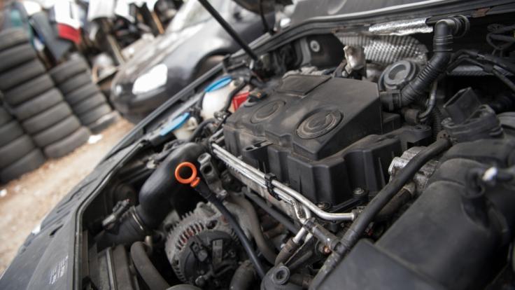 Dieselmotor (Foto)