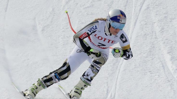 Lindsey Vonn will beim Olympia-Test in Jeongseon wieder die Weltspitze angreifen. (Foto)