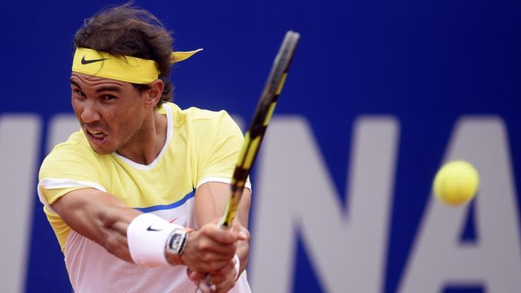 Der Tennisspieler Rafael Nadal steht im Halbfinale der US Open 2019.