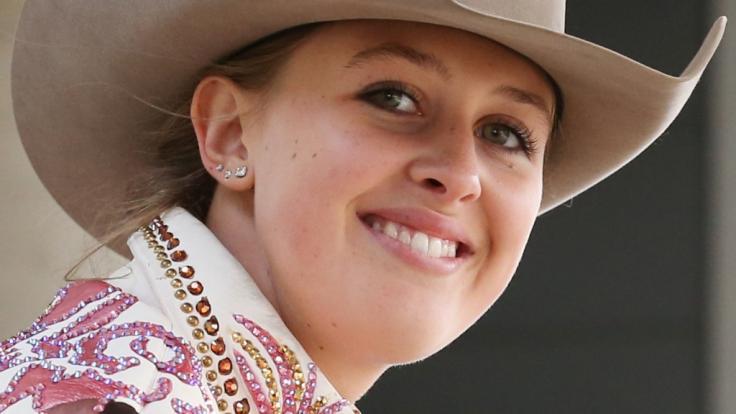 Gina-Maria Schumacher ist erfolgreiche Reining-Reiterin. (Foto)