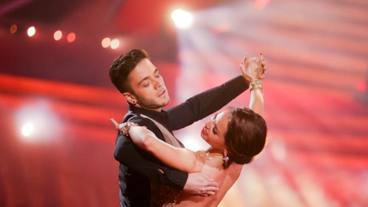 Luca Hänni und Christina Luft lassen die Fan-Herzen höher schlagen.