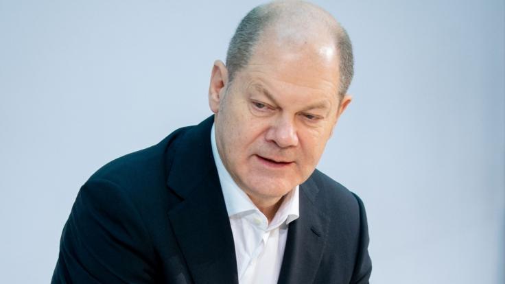 Olaf Scholz will die Schuldenbremse zeitweise aussetzen. (Foto)