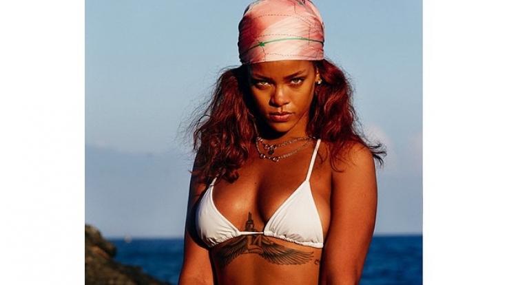 Sexy wie immer - Popstar Rihanna. (Foto)