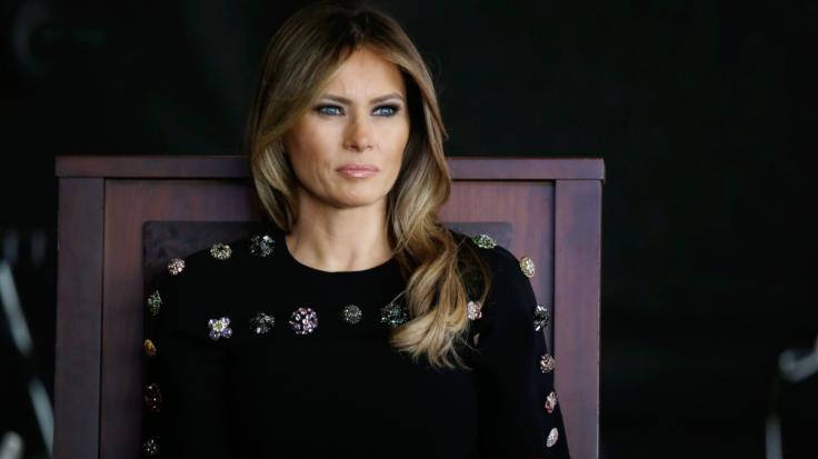 Melania Trump musste sich vor kurzem einer Operation unterziehen.