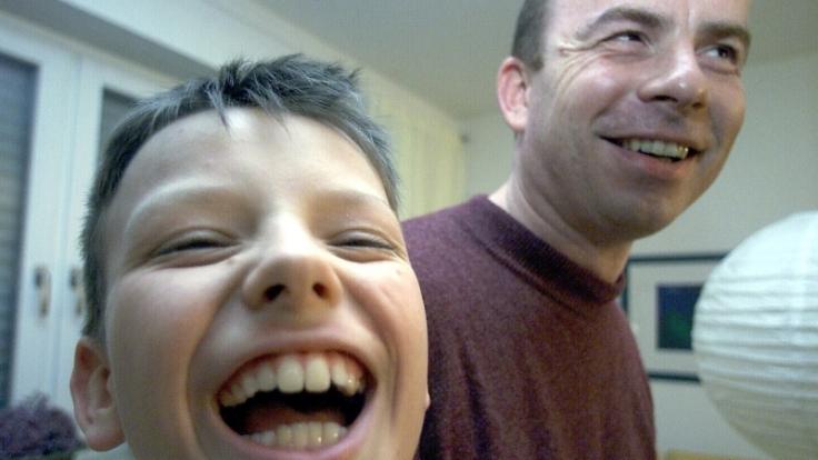 Menschen, die viel und gerne lachen, leben gesünder. (Foto)