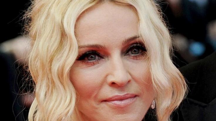 Blonde Haare besitzen eine besondere Anziehungskraft: Das weiß Madonna, die von Natur aus brünett ist. (Foto)