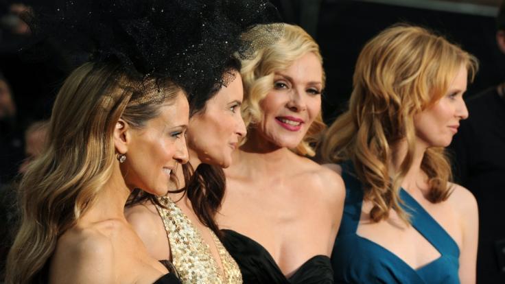 "Cynthia Nixon, Sarah Jessica Parker, Kim Cattrall und Kristin Davis spielten in ""Sex and the City"". (Foto)"