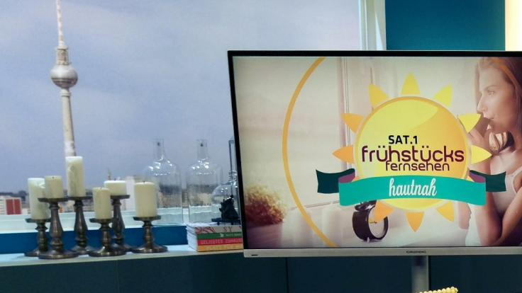 Christian Wackert, Moderator vom Sat.1-Frühstücksfernsehen, liefert sich einen Knackarsch-Battle mit Justin Bieber. (Symbolfoto)