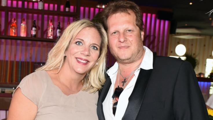 Jens Büchner und seine Frau Daniela sind seit einem Jahr verheiratet.