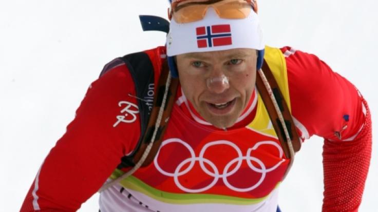 Trauer um Halvard Hanevold: Der dreimalige Biathlon-Olympiasieger aus Norwegen ist mit 49 Jahren gestorben. (Foto)
