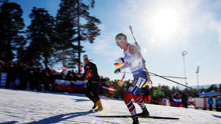 Der Biathlon-Weltcup 2018 geht im russischen Tjumen zu Ende.