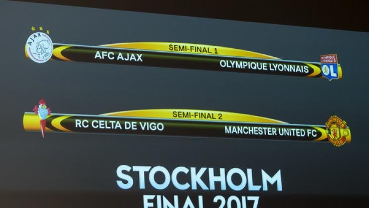 Im Halbfinale der Europa League 2017 trifft Ajax Amsterdam auf Olympique Marseille. (Foto)