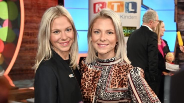 Valentina Pahde (rechts) zeigt sich verführerisch im Netz. (Foto)