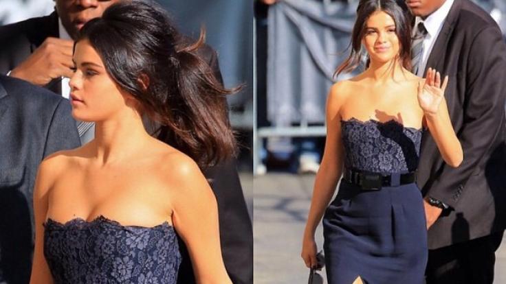 Orangenhaut neu definiert: Selena Gomez. (Foto)