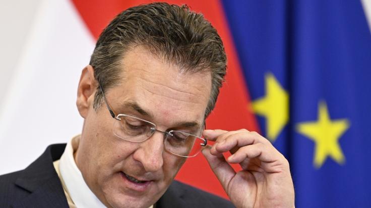 FPÖ-Politiker Heinz-Christian Strache zieht Konsequenzen nach einem Skandal-Video.