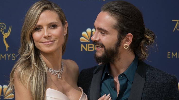Unzertrennlich: Heidi Klum und Tom Kaulitz. (Foto)