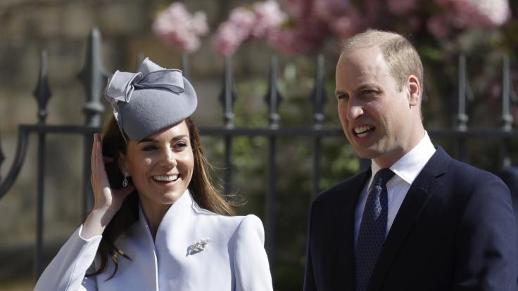 Kate Middleton und Prinz William waren nicht bei der Hochzeit. (Foto)