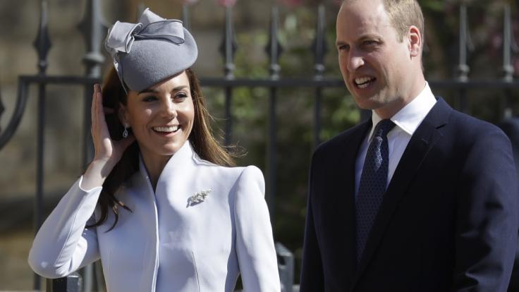 Herzogin Kate und Prinz William machen royale Sommerpause. (Foto)