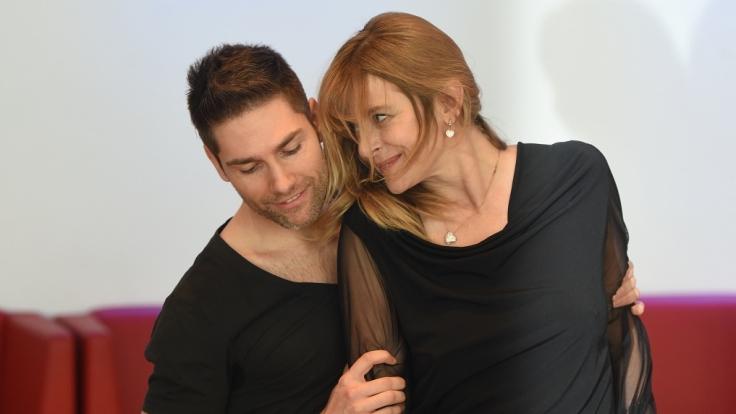 """Nastassja Kinski und Christian Polanc tanzten bei """"Let's Dance"""" zusammen. (Foto)"""