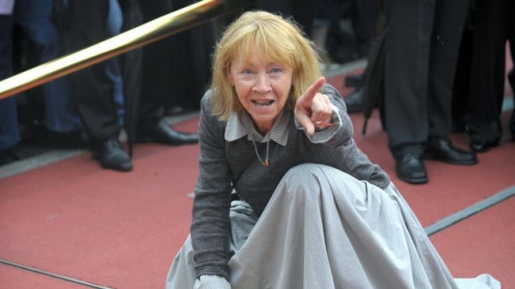 Jutta Hoffmann feierte im März ihren 75. Geburtstag. (Foto)