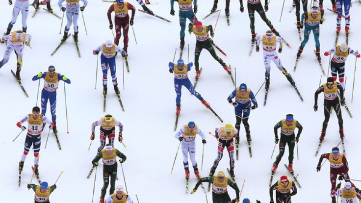 Die Tour de Ski macht im italienischen Val di Fiemme Station. (Foto)