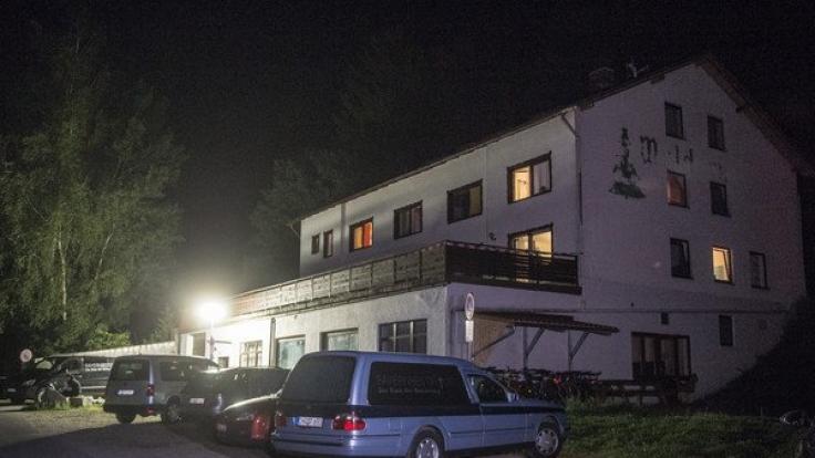 Das Flüchtlingsheim in Arnschwang, in dem der tödliche Messerangriff stattfand.