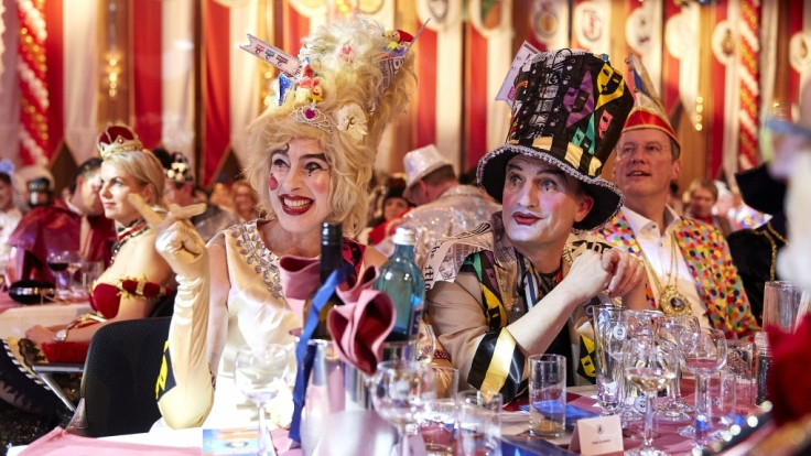 Bei der großen Prunksitzung des Comitee Düsseldorfer Carneval e.V. ist gute Laune garantiert.