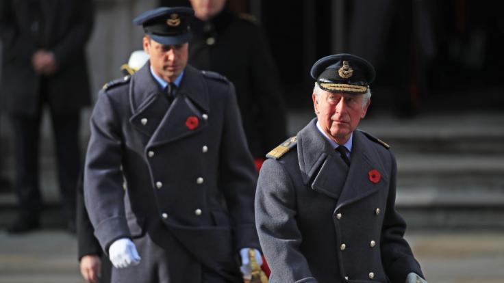 Prinz William rührte seinen Vater zu Tränen. (Foto)