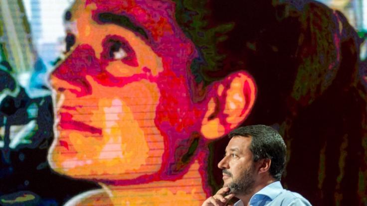 Matteo Salvini, Innenminister von Italien (Foto)