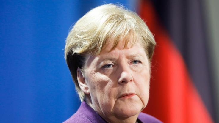 Spricht sich Angela Merkel heute für eine Ausgangssperre aus? (Foto)