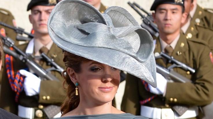 Die ehemalige Prinzessin Tessy von Luxemburg machte auf ihrem Instagram-Kanal Bond-Girls wie Halle Berry Konkurrenz. (Foto)