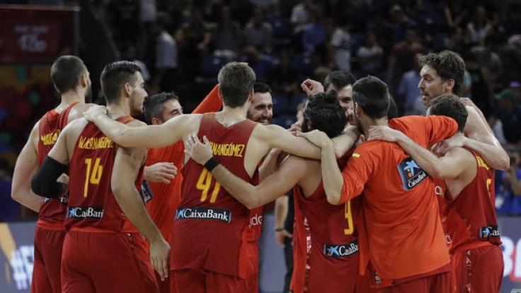 Basketball Spanien Deutschland