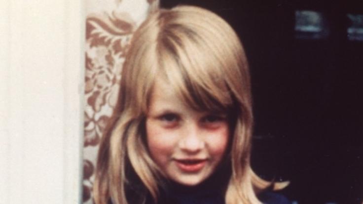 Zum Vergleich: So sah Prinzessin Diana als Kind aus.