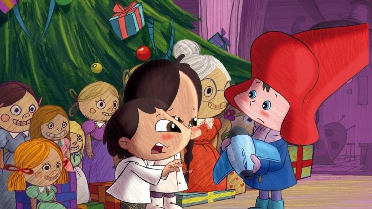 Weihnachtsmann Junior bei Super RTL
