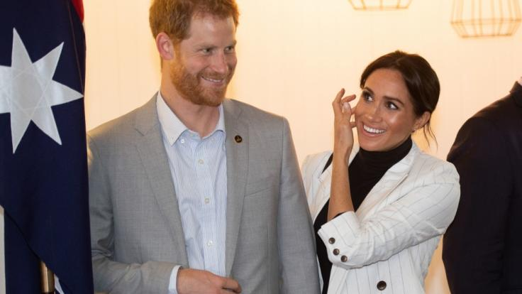 Prinz Harry und Meghan Markle reisen aktuell durch Australien.