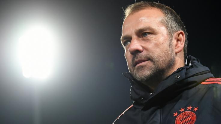 Hansi Flick bleibt bis auf Weiteres Trainer des FC Bayern München. (Foto)