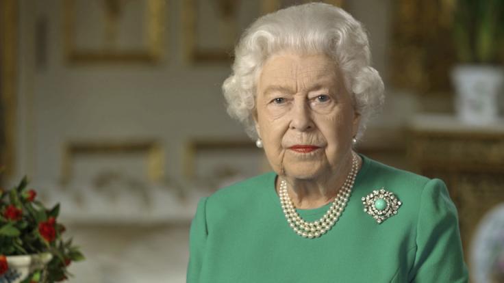 Queen Elizabeth II. wendet sich zum 75. Jahrestag des Endes des Zweiten Weltkriegs am 08.05.2020 in einer Ansprache an das britische Volk.