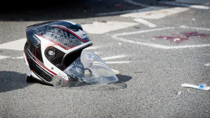 Die Zahl der schweren Motorradunfälle steigt. (Foto)