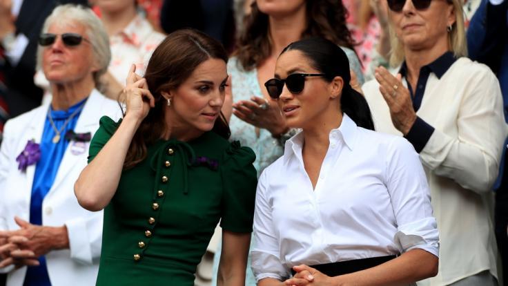 Der Zoff zwischen Kate Middleton und Meghan Markle eskaliert.