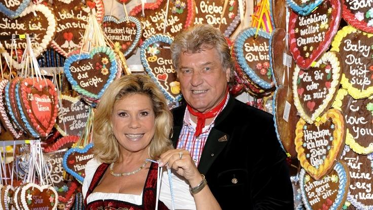 Marianne & Michael zu Gast im ZDF Fernsehgarten. (Foto)