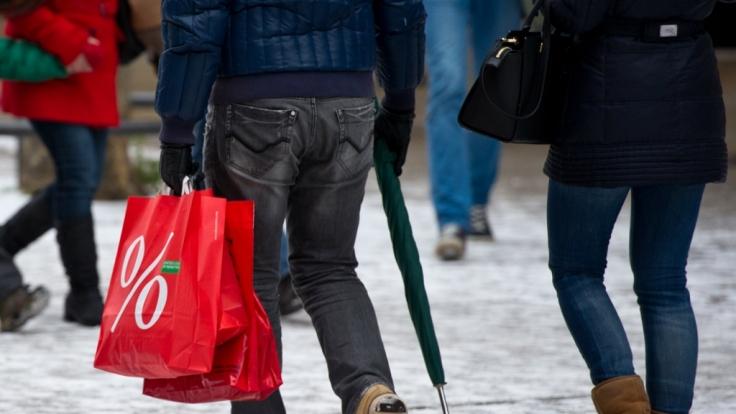 In vielen Städten können Sie auch am Sonntag einkaufen gehen. (Foto)