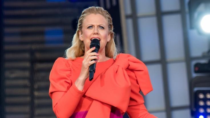 Barbara Schöneberger hat einen Hitze-Tipp. (Foto)