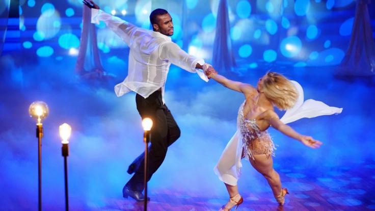 """Tijan Njie und Kathrin Menzinger wollen ins """"Let's Dance""""-Halbfinale. (Foto)"""