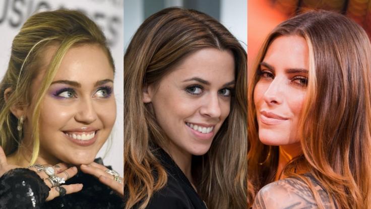 Miley Cyrus, Vanessa Mai und Sophia Thomalla sind nur drei der Promi-Ladys, die in dieser Woche ihren Fans den Kopf verdrehten.