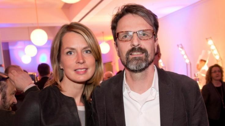 Jessy Wellmer besucht mit ihrem Mann Sven Siebert eine Veranstaltung der Süddeutschen Zeitung (2016). (Foto)