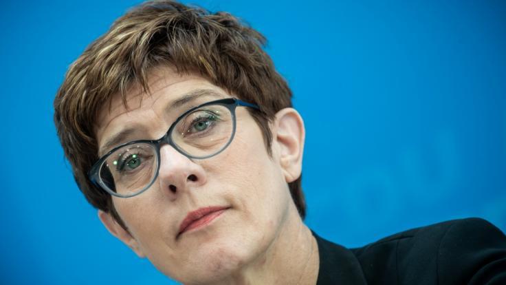 CDU-Chefin Annegret Kramp-Karrenbauer hat eine Zusammenarbeit mit der AfD ausgeschlossen. (Foto)