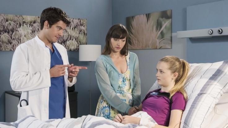 Ben im Gespräch mit Selina Kleeman. Kann sein Engagement die Beziehung zu Leyla noch retten?