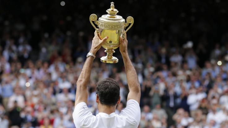 In London fand die 132. Ausgabe des Wimbledon-Grand-Slam-Turniers statt.